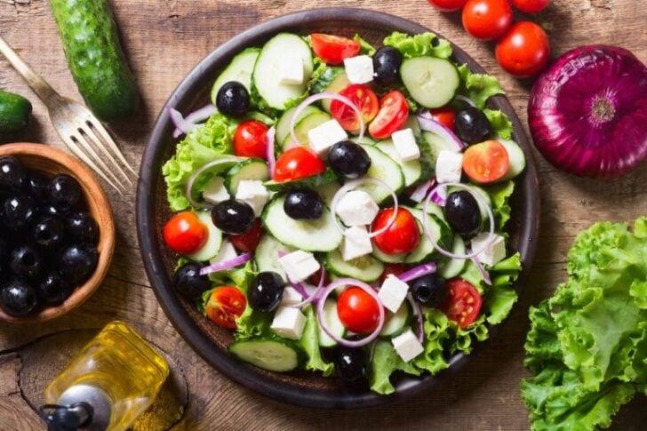Restaurant Nostos - Bodegraven - Griekse salade